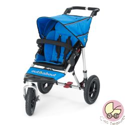 Out'n'About Nipper 360 V4 Single in Lagoon Blue