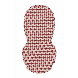 BabyStyle Oyster Colour Pop Seat Liner in Red Pear Drop