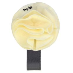 BabyStyle Magnetic Cream Rosette