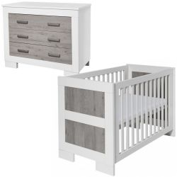 Babystyle Chicago 2 Piece Nursery Room Set