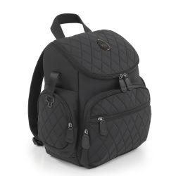egg Special Edition Backpack Changing Bag in Just Black