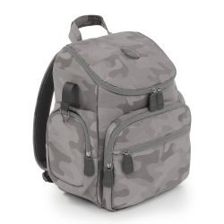 egg Special Edition Backpack Changing Bag in Camo Grey