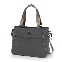 egg Changing Bag in Carbon Grey