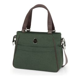 egg Changing Bag in Country Green