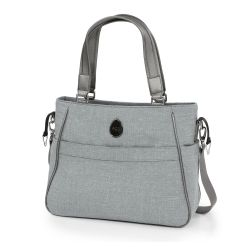 egg Changing Bag in Platinum Grey