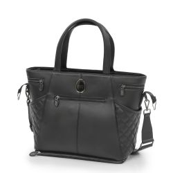egg Special Edition Changing Bag in Just Black