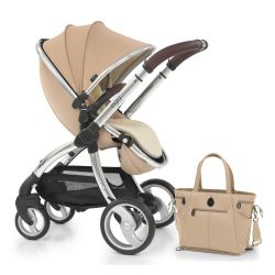 egg® Stroller in Honeycomb Special Edition, deluxe Reversible Seat Liner & Matching Changing Bag