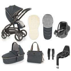 egg Stroller Maxi Cosi Travel System & Accessories in Carbon Grey
