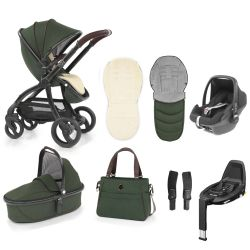 egg Stroller Maxi Cosi Travel System & Accessories in Country Green