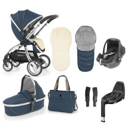 egg Stroller Maxi Cosi Travel System & Accessories in Deep Navy Blue