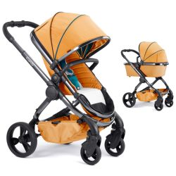 iCandy Pushchair in Nectar on Phantom Grey Chassis