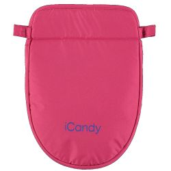 iCandy MiPeach Dolls Pram Apron in Bubblegum Pink