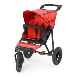 Out'n'About Nipper 360 V4 Single in Carnival Red