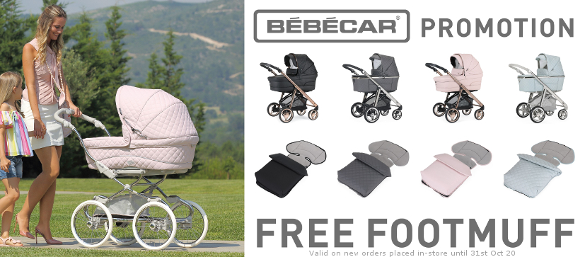 Bebecar Free Footmuff Special Offer