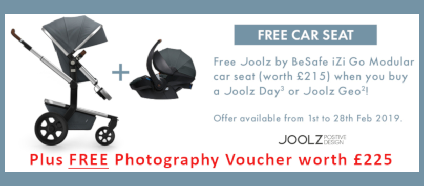 Free Car Seat with Joolz!